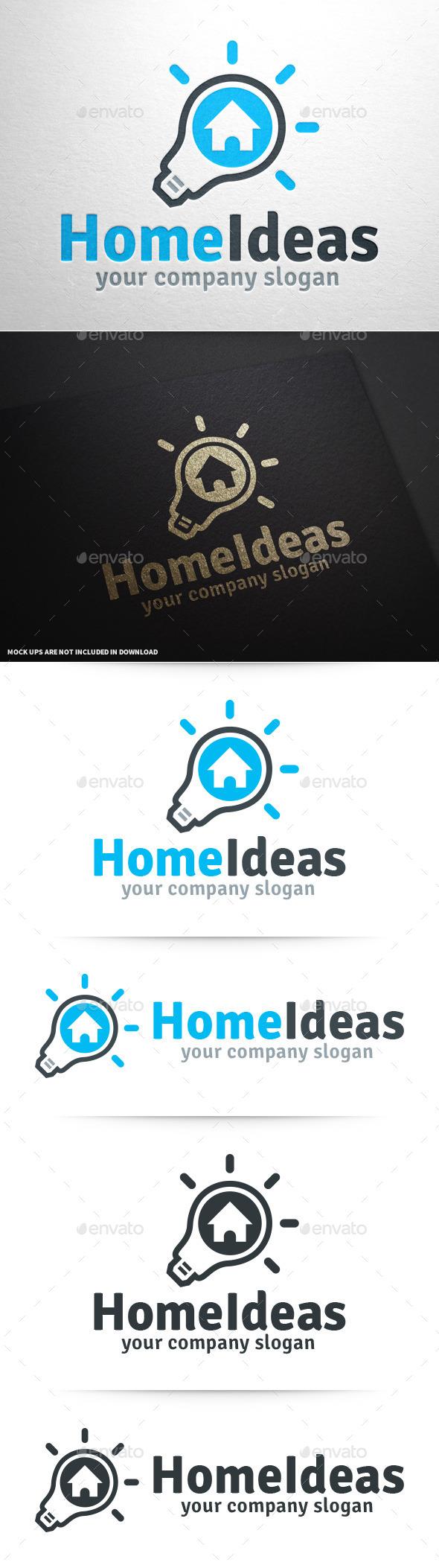 GraphicRiver Home Ideas Logo v2 10026676