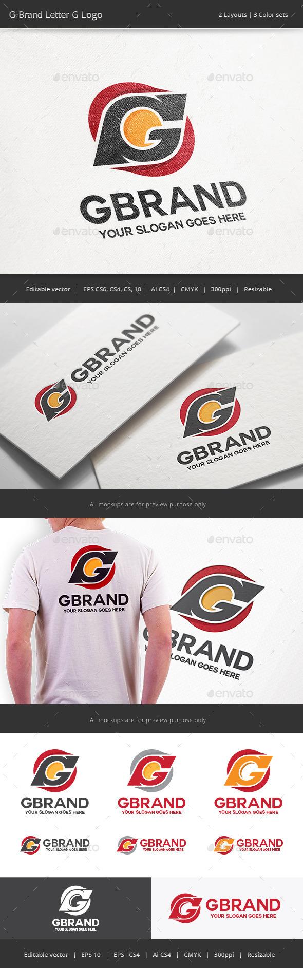 GraphicRiver G Brand Letter G Logo 10026721