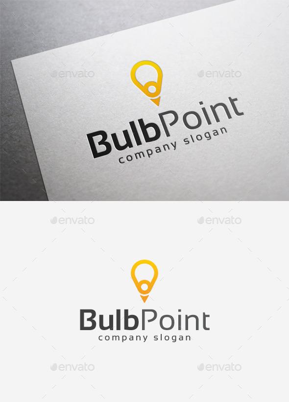 GraphicRiver Bulb Point Logo 10026731