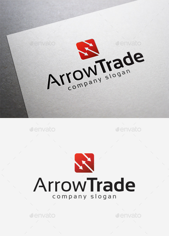 GraphicRiver Arrow Trade Logo 10026767