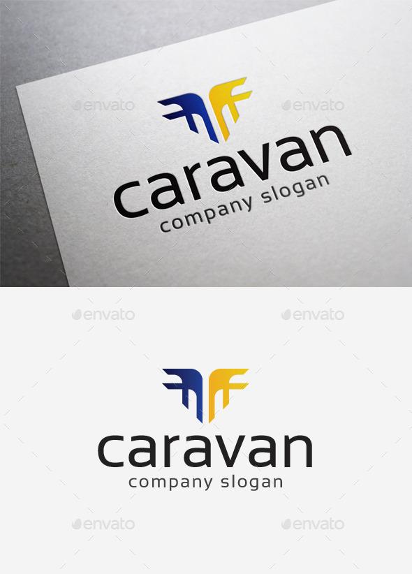 GraphicRiver Caravan Logo 10026954