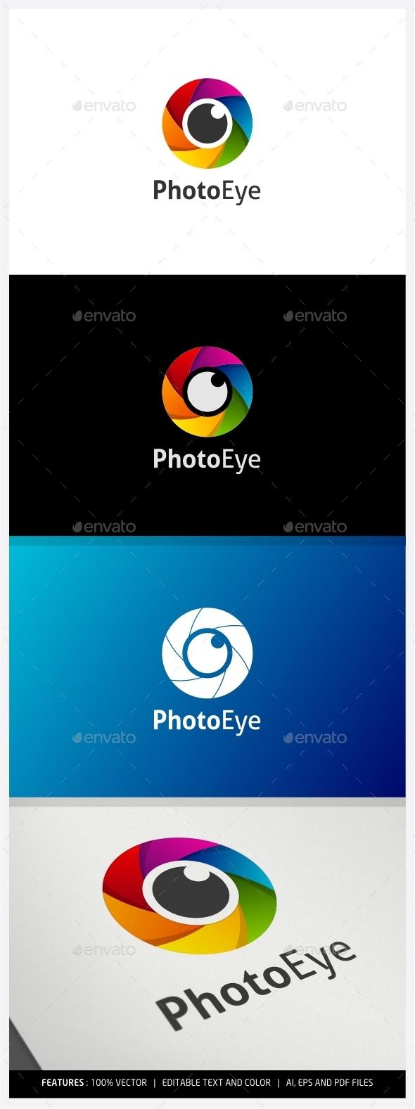 GraphicRiver Photo Eye Logo 10027623