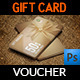 Gift Voucher Card Template Vol 16 - GraphicRiver Item for Sale