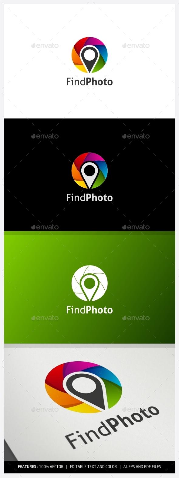 GraphicRiver Find Photo Logo 10027783
