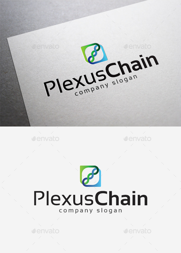 GraphicRiver Plexus Chain Logo 10027791