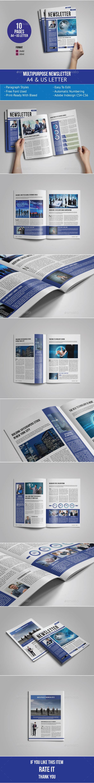 GraphicRiver Multipurpose Newsletter Template 10027801