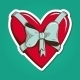 Heart with Bow. - GraphicRiver Item for Sale