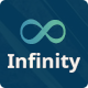 Link toInfinity flat one page html template
