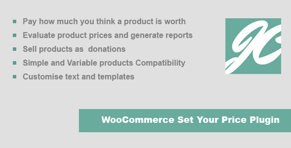 CodeCanyon JC WooCommerce Set Your Price 10028616