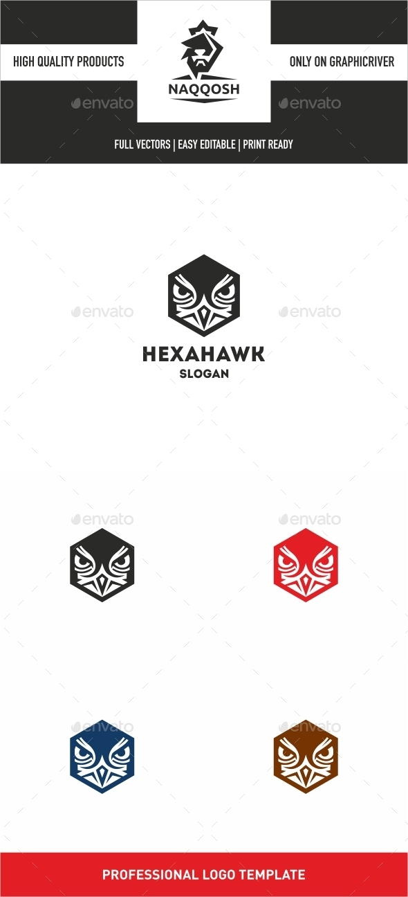 GraphicRiver Hexa Hawk 10028676