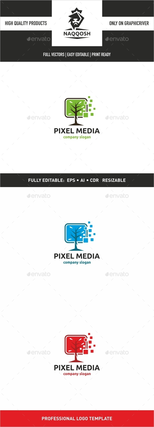 GraphicRiver Pixel Media 10028716
