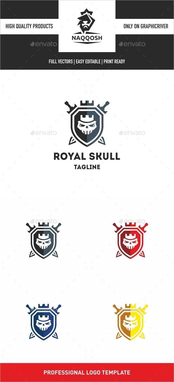 GraphicRiver Royal Skull 10028721
