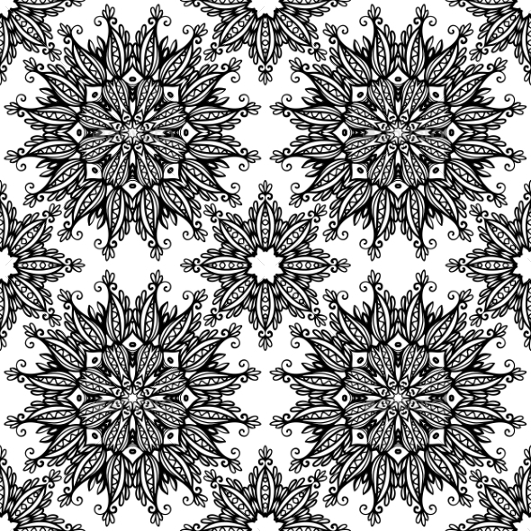 GraphicRiver Floral Pattern 10028816