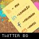Corkboard Texture Twitter Background - GraphicRiver Item for Sale