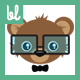 Geeky Bear - GraphicRiver Item for Sale