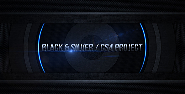After Effects Project - VideoHive Black & Silver 126890