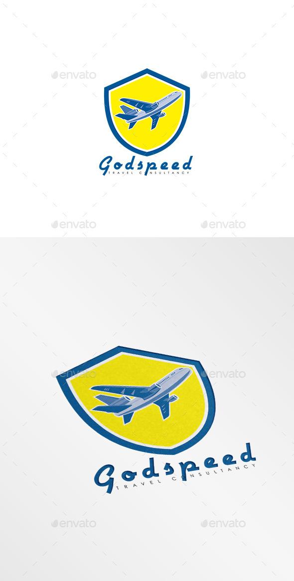 GraphicRiver Godspeed Travel Consultancy Logo 10029719