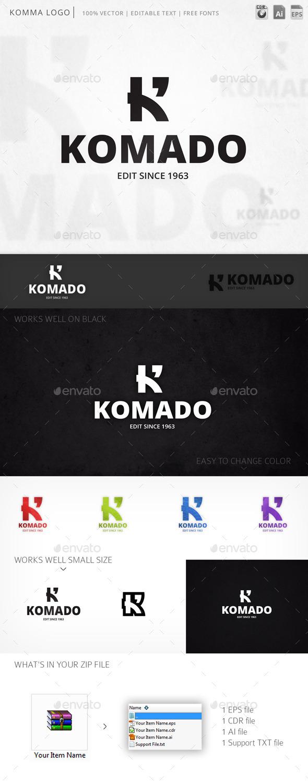 GraphicRiver Komado Logo 10029723