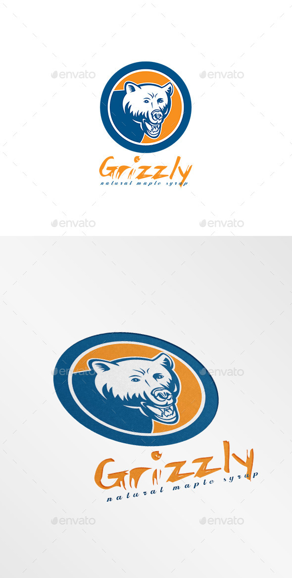 Grizzly Natural Maple Syrup Logo