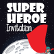 Invitation super heroe - GraphicRiver Item for Sale