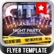 City Night Party Flyer Template - GraphicRiver Item for Sale