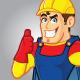 Superhero Construction Guy - GraphicRiver Item for Sale