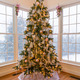 Beautiful xmas tree with snow outside - PhotoDune Item for Sale