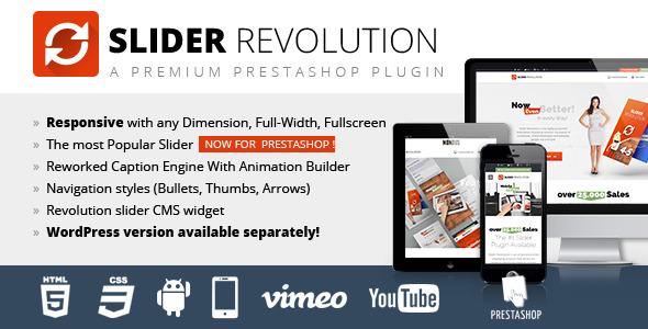 Slider Revolution Responsive Prestashop Module - CodeCanyon Item for Sale