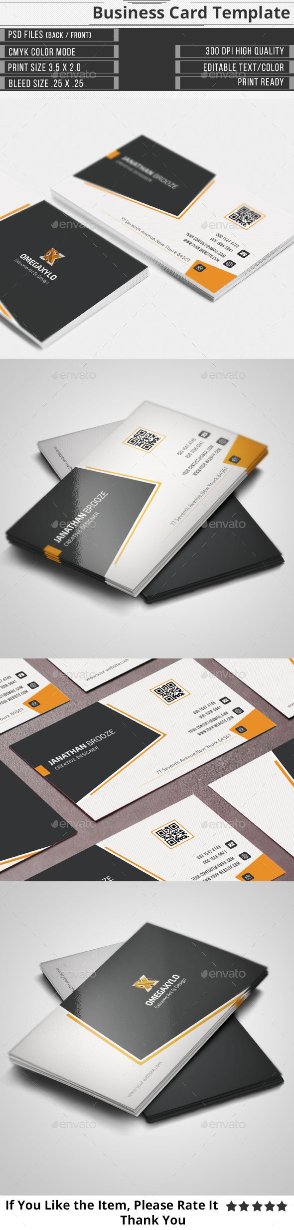 GraphicRiver Elegant Corporate Business Card 10031570