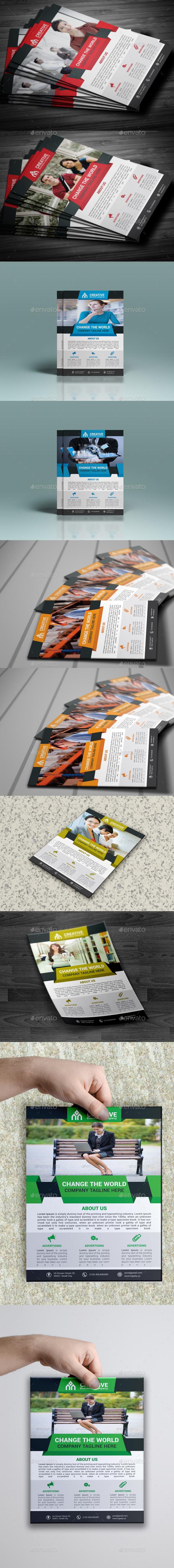 GraphicRiver Flyer Bundle 10031675