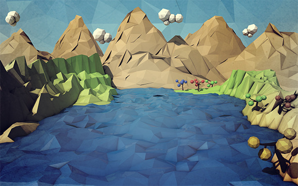 Low Poly Nature Design
