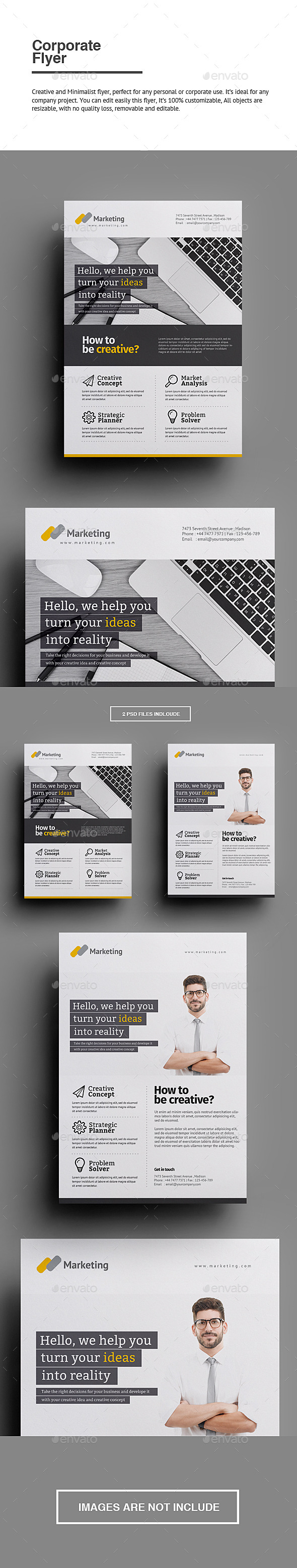 GraphicRiver Corporate Flyer 10031785