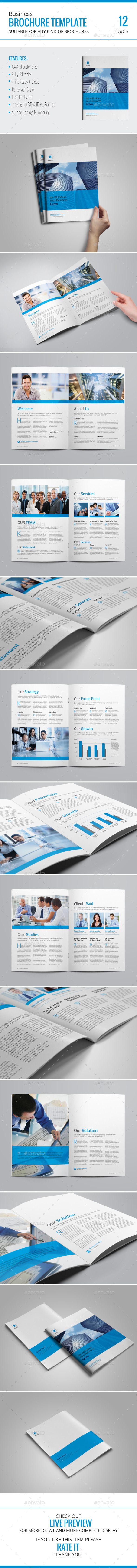 GraphicRiver Business Brochure Template 10031891