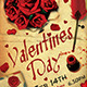 Valentines Day Flyer Template V5 - GraphicRiver Item for Sale
