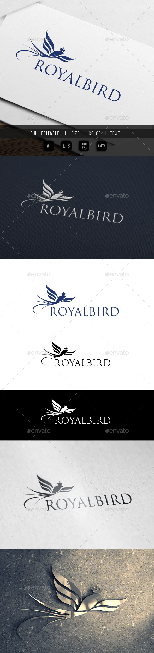 GraphicRiver Royal Bird Paradise 10013765