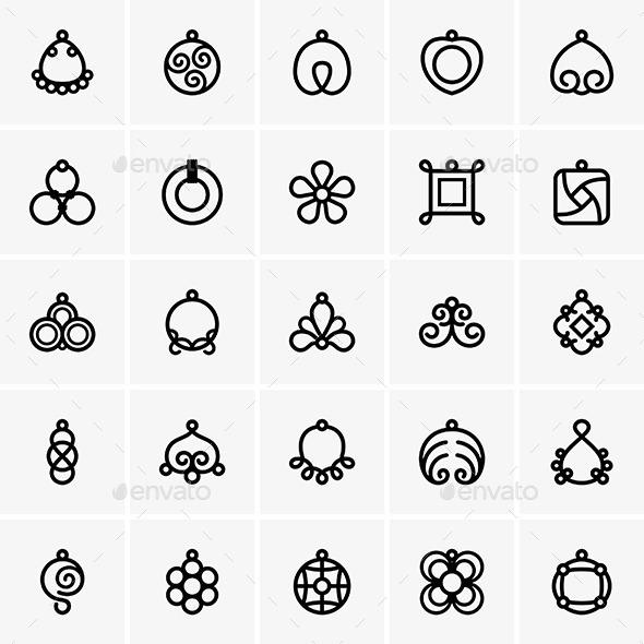 GraphicRiver Bijouterie Icons 10032406