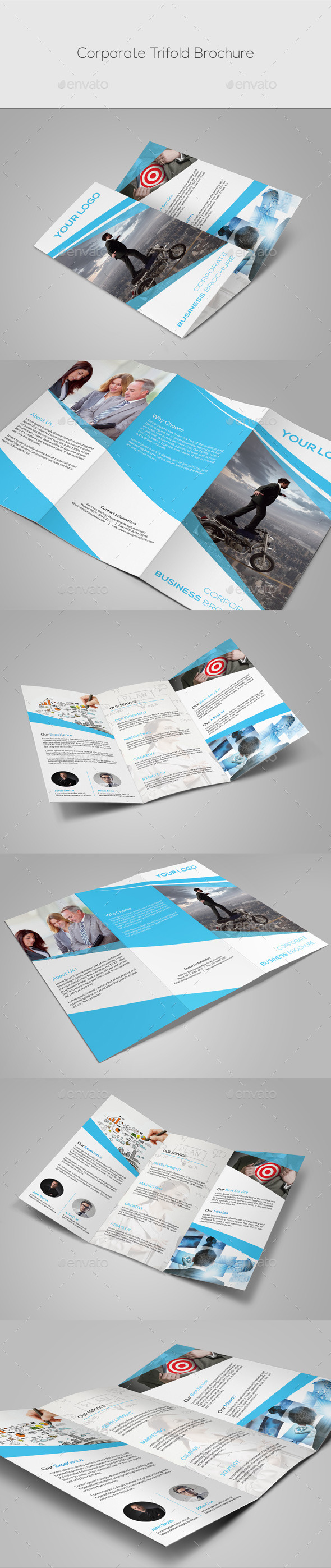 GraphicRiver Corporate Trifold Brochure 10032456