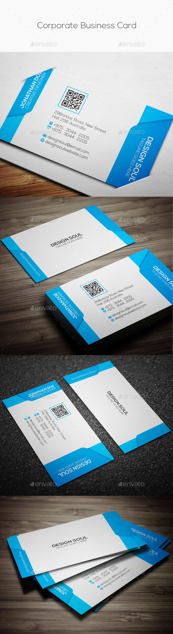 GraphicRiver Corporate Business Card 10032487