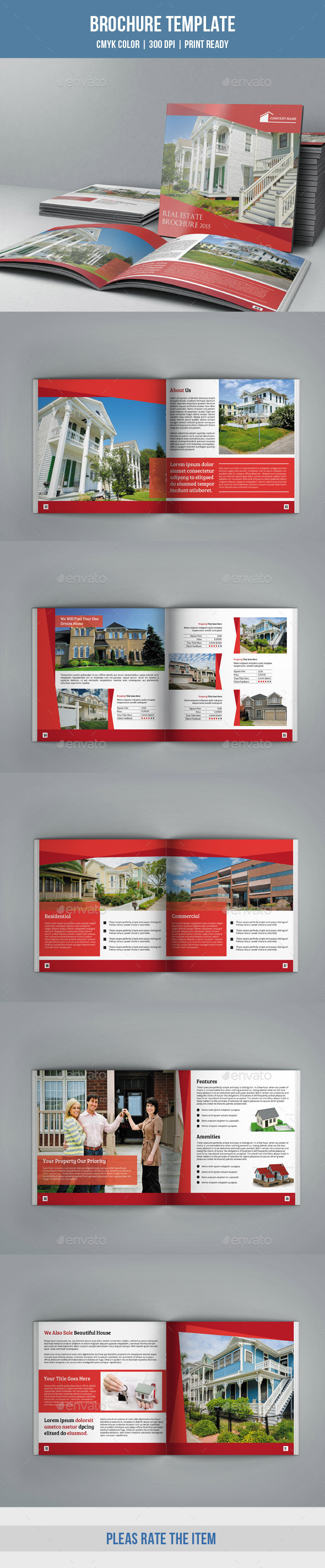 GraphicRiver Square Bifold for Real Estate Company-V09 10032521