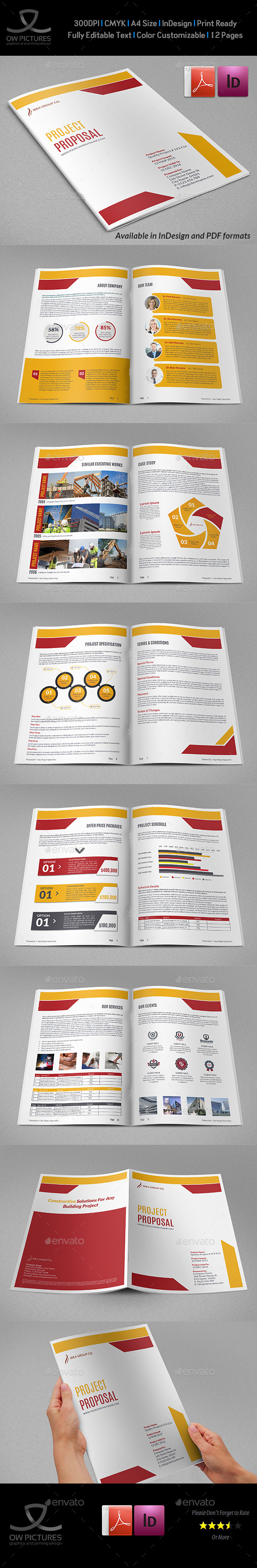 GraphicRiver Construction Company Proposal Template Vol.4 10025127