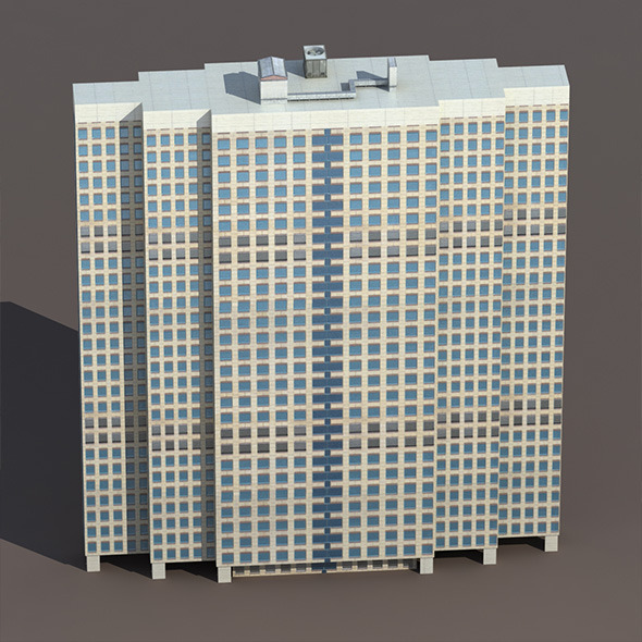 3DOcean Skyscraper #5 Low Poly 3D Building 10033227