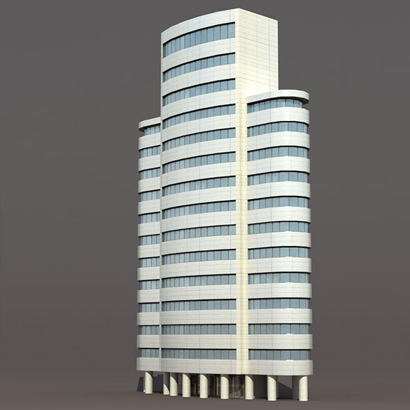 3DOcean Skyscraper #4 Low Poly 3D Building 10033245