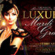 Luxury Mardigras Flyer - GraphicRiver Item for Sale