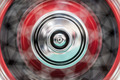 Car's wheel rotating fast with blur. - PhotoDune Item for Sale