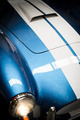 Headlight Detail of Blue Classic car. - PhotoDune Item for Sale