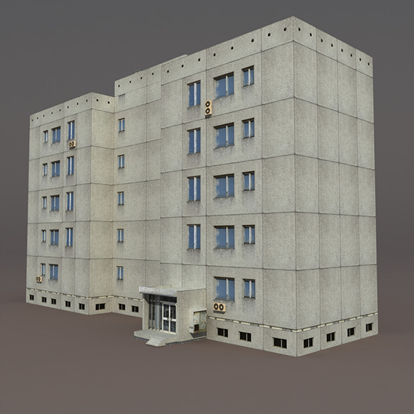 Residential Building #4 - 3DOcean Item for Sale