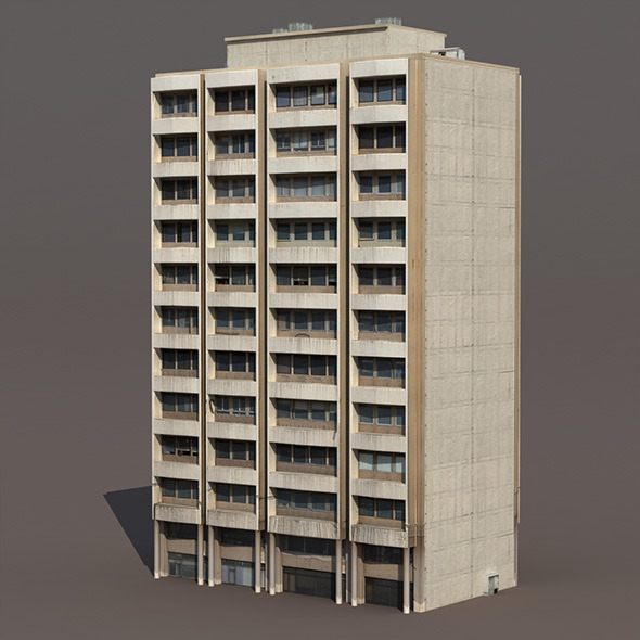 Residential Building #10 - 3DOcean Item for Sale