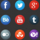 Animated Social Media Icon Collection 2014 V1