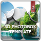 3D Photobox Template V.2 - GraphicRiver Item for Sale