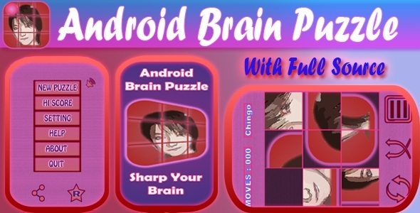 CodeCanyon Android Brain Puzzle Game 10034548
